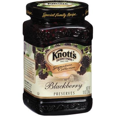 Knott's Berry Farm Blackberry Preserves 10 Oz Jar