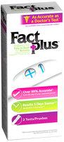 Fact Plus® Pregnancy Test 2 ct Box