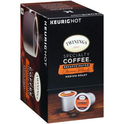 Twinings® of London Specialty Coffee® Decaffeinated Classic Blend Medium Roast Coffee K-Cups 24 ct Box