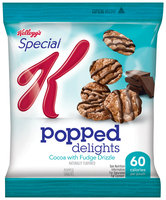 Special K® Kellogg Popped Delights™ Cocoa with Fudge Drizzle Popped Snacks