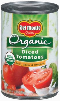 Del Monte Organic Diced Tomatoes with Basil Garlic & Oregano 14.5 oz. Can