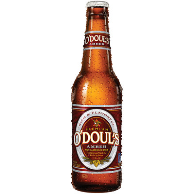 O'doul's Amber 12 Oz Beer   Glass Bottle