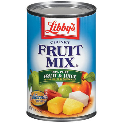 Libby's® Chunky In Pear Juice Fruit Mix 15 Oz Can