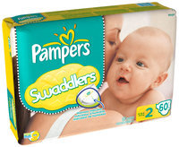 Pampers Swaddlers Mega Pack Size 2 Diapers 60 ct Bag