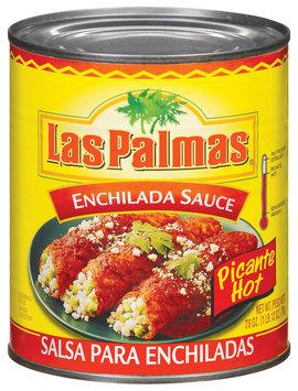 Las Palmas Picante Hot Enchilada Sauce 28 Oz Can