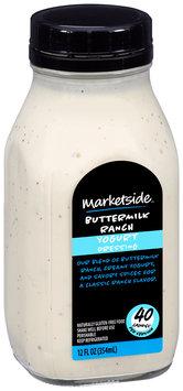 Marketside™ Buttermilk Ranch Yogurt Dressing 12 fl. oz. Bottle