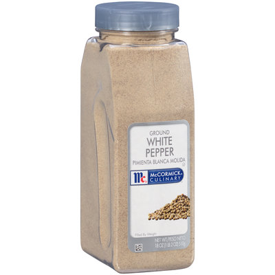 McCormick® Culinary™ Ground White Pepper 18 oz. Bottle