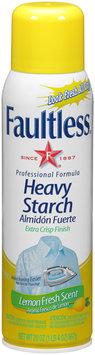 Faultless® Lemon Fresh Scent Heavy Starch 20 oz. Aerosol Can