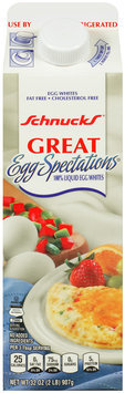 Schnucks® Great Egg-Spectations® Liquid Egg Whites 32 oz