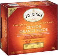 Twinings of London® Ceylon Orange Pekoe Tea Bags 50 ct Box
