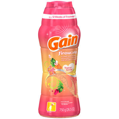 Gain Fireworks Tropical Sunrise Scent Beads 26.5 Oz