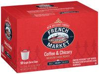 French Market™ Bolder Medium Dark Roast Coffee & Chicory Single Serve Cups 12 ct Box