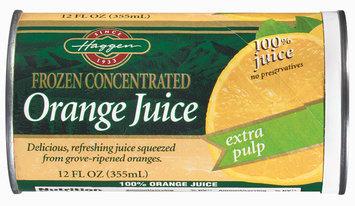 Haggen Extra Pulp Orange Juice 12 Oz Can