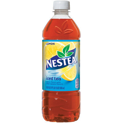 NESTEA Iced Tea, Lemon 16.9-ounce plastic bottles