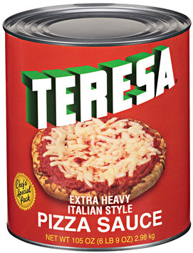 Teresa® Extra Heavy Italian Style Pizza Sauce 105 oz