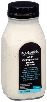 Marketside™ Light Buttermilk Ranch Dressing 12 fl. oz. Bottle