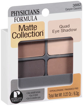 Matte Collection Quad Eye Shadow Canyon Classics 0.22 oz.