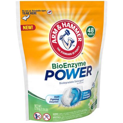 Arm & Hammer™ BioEnzyme Power Botanical Springs Biodegradable Detergent Paks 48 ct. Pouch