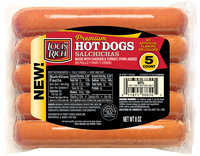 Louis Rich Hot Dogs 5 ct Pack