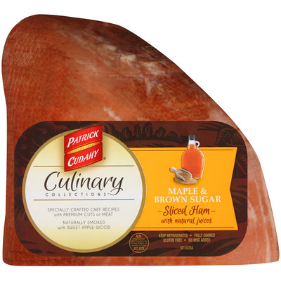 Patrick Cudahy® Culinary Collections™ Maple & Brown Sugar Sliced Ham with Natural Juices