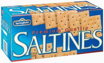 Springfield Saltines Premium Crackers 16 Oz Box