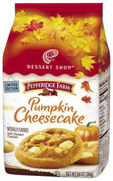 Pepperidge Farm® Dessert Shop™ Pumkin Cheesecake Soft Dessert Cookies 8.6 oz. Package