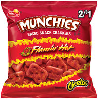 Munchies® Cheetos® Brand Flamin' Hot Baked Snack Crackers 1.22 oz. Bag