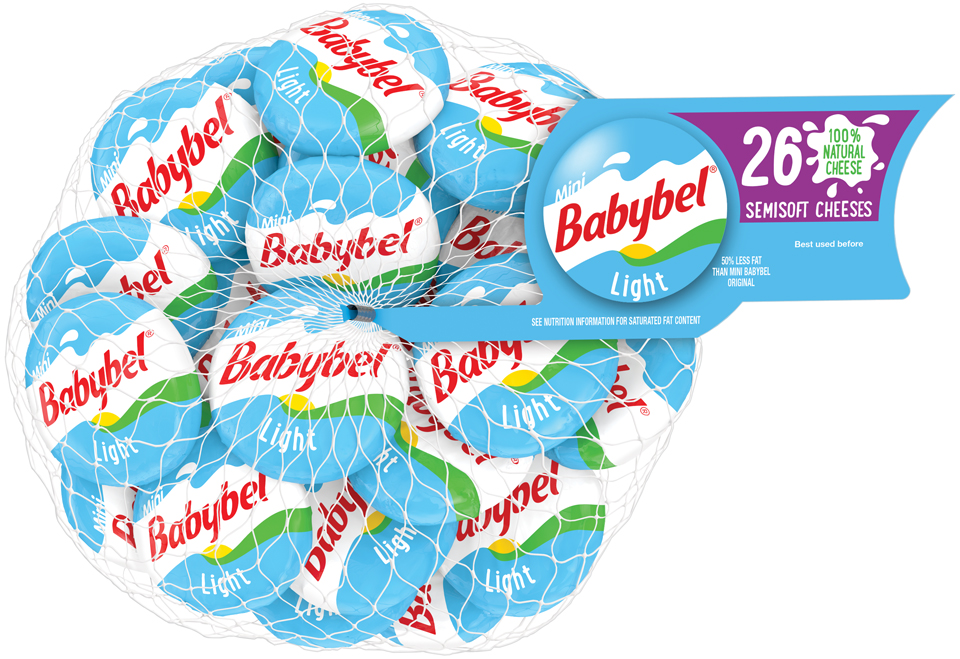 Mini Babybel® Light Semisoft Cheese