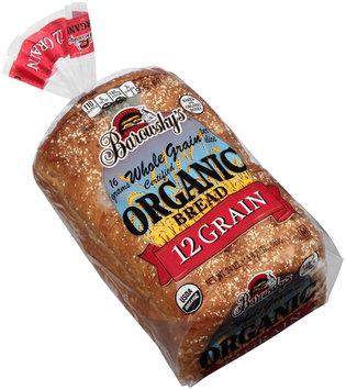 Barowsky's® Certified Organic 12 Grain Bread 24 oz. Loaf