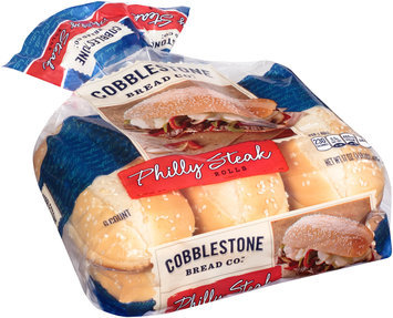 Cobblestone Bread Co.™ Philly Steak Rolls