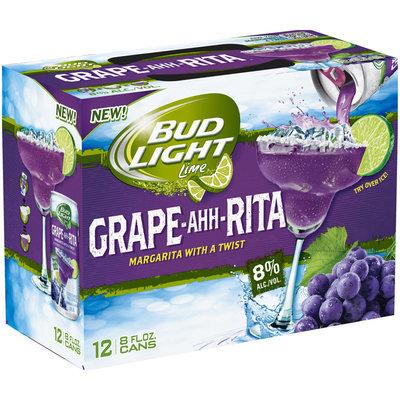 Bud Light Lime® Grape-Ahh-Rita Malt Beverage 12-8 fl. oz. Cans