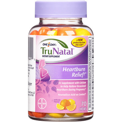 One A Day® TruNatal™ Heartburn Relief Dietary Supplement Chews 70 ct Bottle