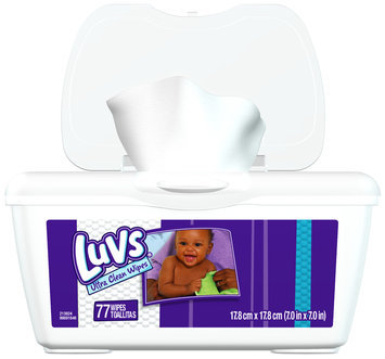 Luvs Ultra Clean Baby Wipes 77 ct Box