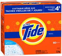 Tide Ultra Original Scent Powder Laundry Detergent 84 oz. Box