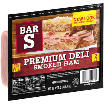 Bar-S® Premium Deli Smoked Ham 32 oz. Package
