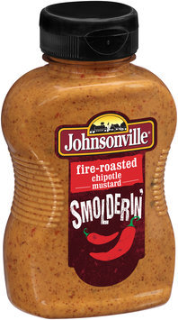 Johnsonville Fire-roasted Chipotle Mustard 10oz Bottle
