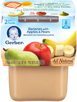 Gerber 2nd Foods Banana Apple Pear 8 Oz Sleeve