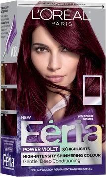 L'Oréal® Paris Feria® Power Violet V38 Intense Deep Violet Hair Color 1 Kit Box