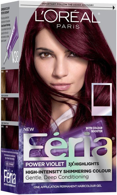 L Or 233 Al 174 Paris Feria 174 Power Violet V38 Intense Deep Violet