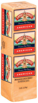 Land O'Lakes® Deli American Slices Yellow Cheese 5 Lb Loaf