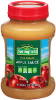 Springfield® Tree Ripened Apple Sauce 24 oz. Jar