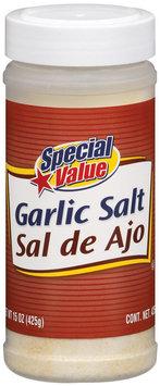 Special Value  Garlic Salt 15 Oz Shaker