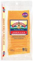 Land O'Lakes® Deli American Yellow Shingle Pack Slices Cheese 8 Oz Peg