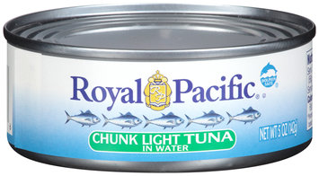 Royal Pacific® Chunk Light Tuna in Water 5 oz. Can