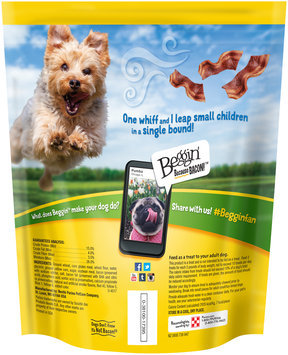 Purina Beggin' Littles Bacon Flavor Dog Snacks 25 oz. Pouch