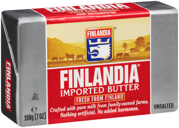 Finlandia® Imported Unsalted Butter 7 oz. Package