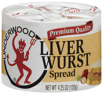 Underwood Liverwurst Spread 4.25 Oz Pull-Top Can