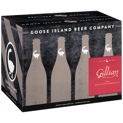 Goose Island® Gillian Belgian Style Farmhouse Ale 12-765 mL Bottles