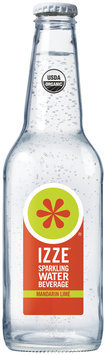 Izze® Mandarin Lime Sparkling Water Beverage 12 fl. oz. Bottle