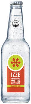 Izze® Mandarin Lime Sparkling Water Beverage 12 fl. oz. Bottle